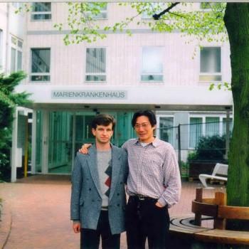 Стажування в Marienkrankenhaus, Шверте (Німеччина, 1999 р.,  керівник - dr. Holger Felcht).