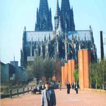 Під час навчання за грантом Товариства Хірургів Німеччини «Wolfgang-M?ller-Osten-Stiftung»  в клініці м. Кьольн (Німеччина) (2000 р.)