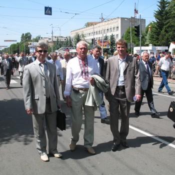 В складі делегації хірургів Волинської області на ХХІІ з'їзді хірургів України (Вінниця, 2010 р.)